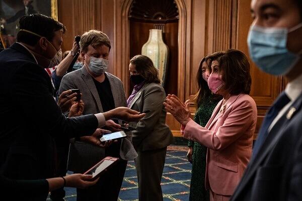 Nancy Pelosi Reveals the Reason why Relief talks