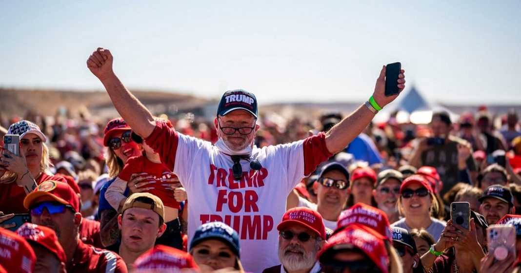 Trump's Supporters Still Hoping for a miracle