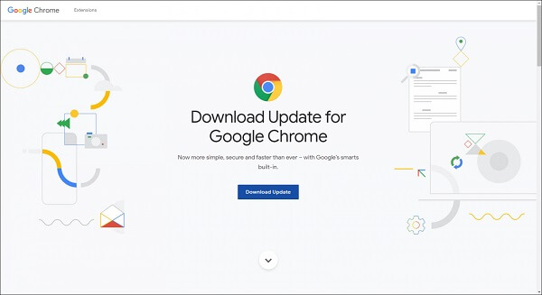 Update Google Chrome