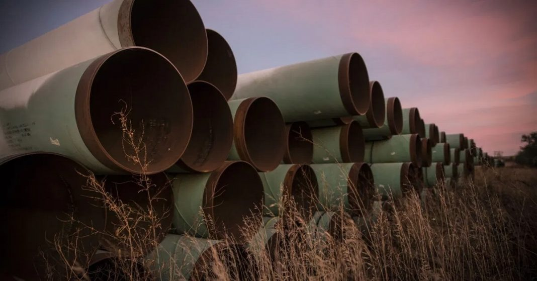 Biden to Cancel Keystone XL Pipeline Project on the First Day of His Presidency