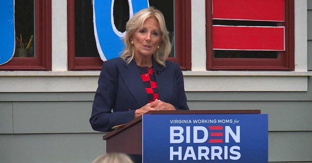 Dr. Jill Biden's First Official Day As FLOTUS Honors The Teachers Across America