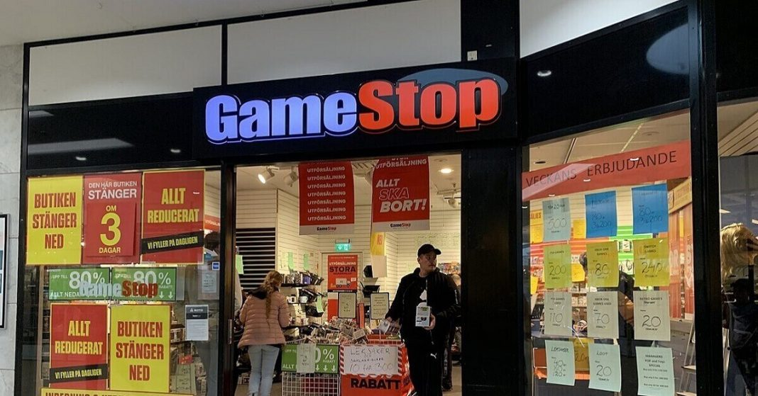 GameStop Stock Shows Bullish Trend with a Record-High Jump