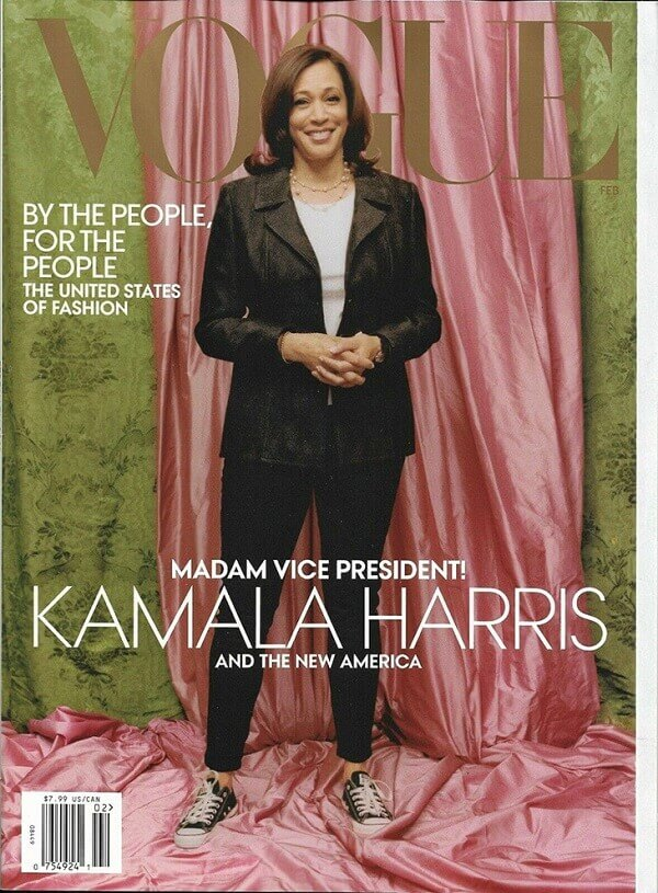 Kamala Harris Vogue Cover Picture