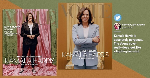 Vogue Cover Picture Starts A Debacle