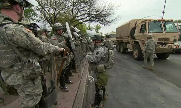 National Guard to Handle Pro-Trump Protests