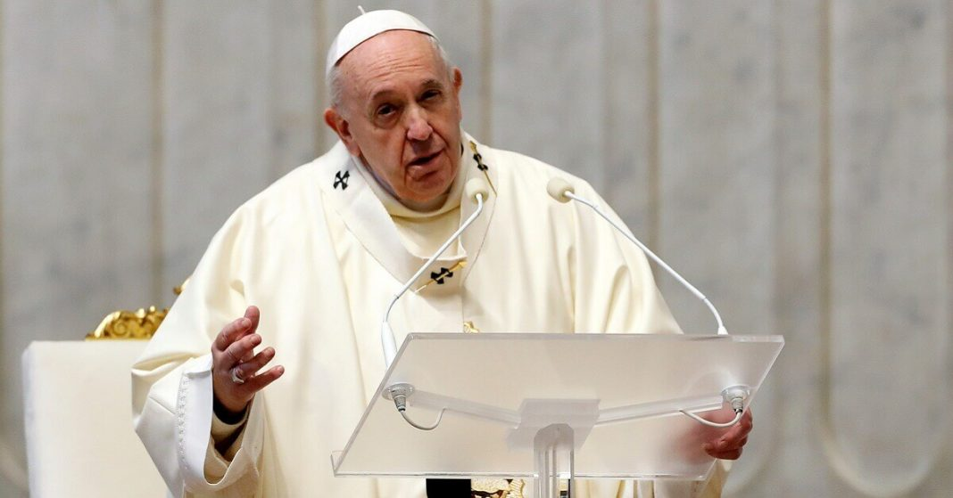 Pope Criticizes People who Traveled