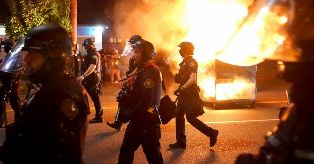 Riots in Portland as Unrest Continues