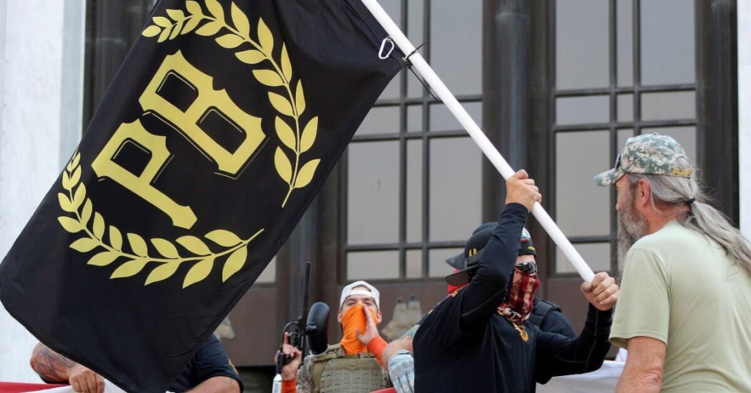 The Leader of the Proud Boys Organization Arrested