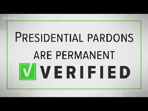 Trump To Issue Last Batch Of Commutations And Pardons On Tuesday. His Name Is Not In The List As Of Yet
