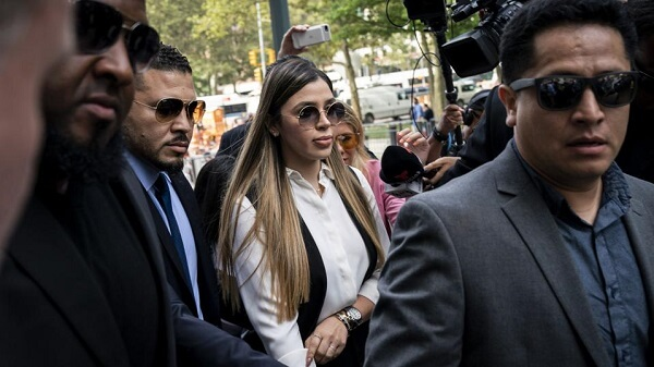 El Chapo's wife arrested on drug trafficking charges