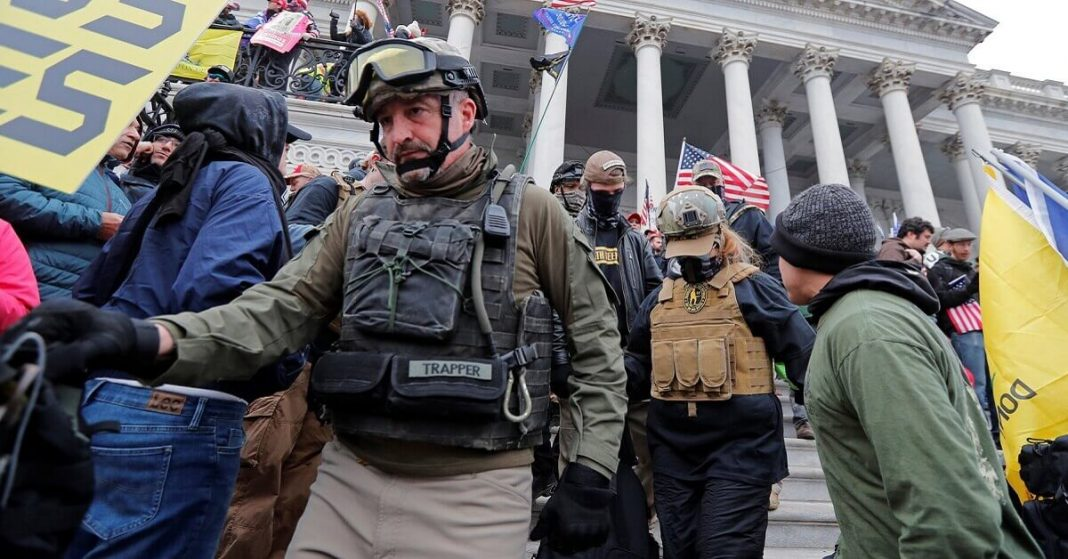 FBI is investigating followers of the 'Oath Keeper' But not stopping the Leader