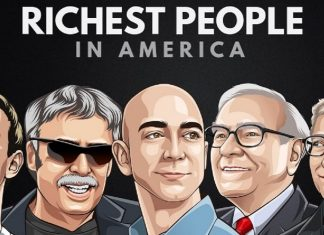 Famous Billionaires in the US and the States they Belong to