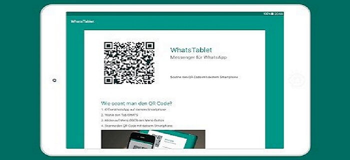 Install WhatsApp on your tablet 1