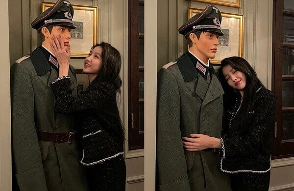 K-pop star Sowon under fire after putting up pictures with Nazi mannequin