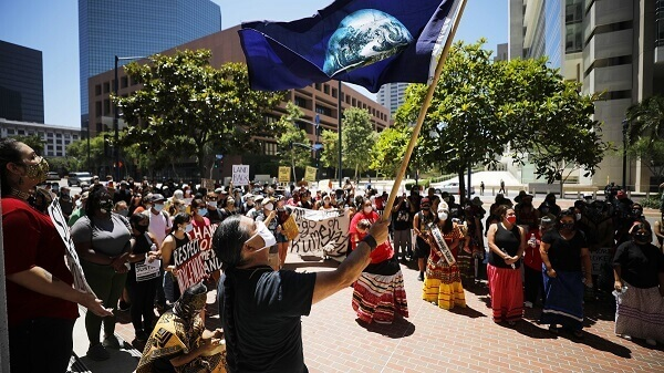 Native Americans planning to stage a Super Bowl protest