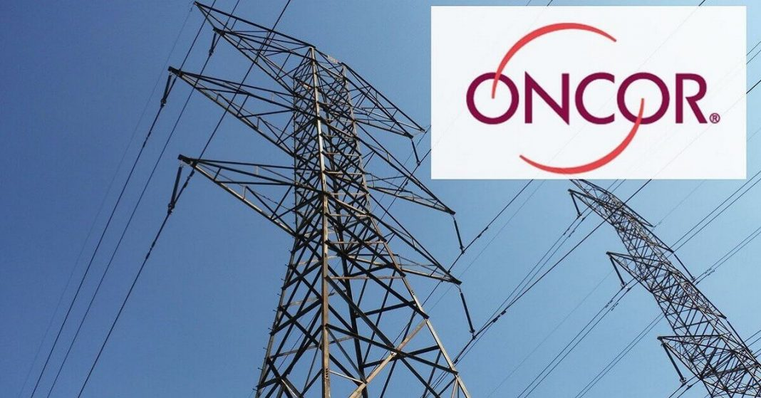 Oncor is working to Restore the Power Outage