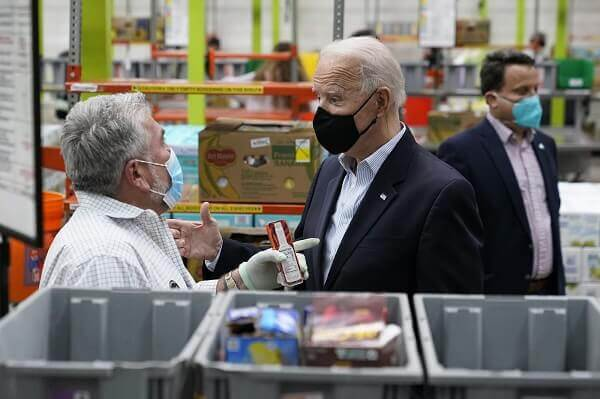 """Biden assures support to storm-battered Texas""""We are in it for the long haul"""""""