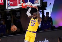 Record-breaking LeBron James leads Los Angeles Lakers to a commanding victory against Denver Nuggets