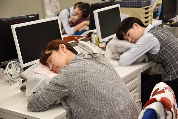 Take naps like Japanese