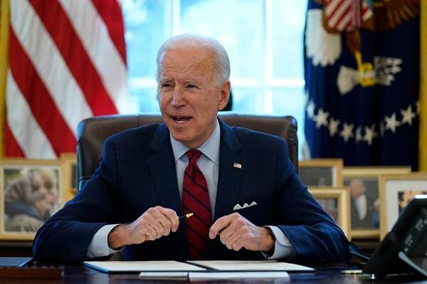 "Biden endorses his top medical adviser's warning against ""reckless behavior"""