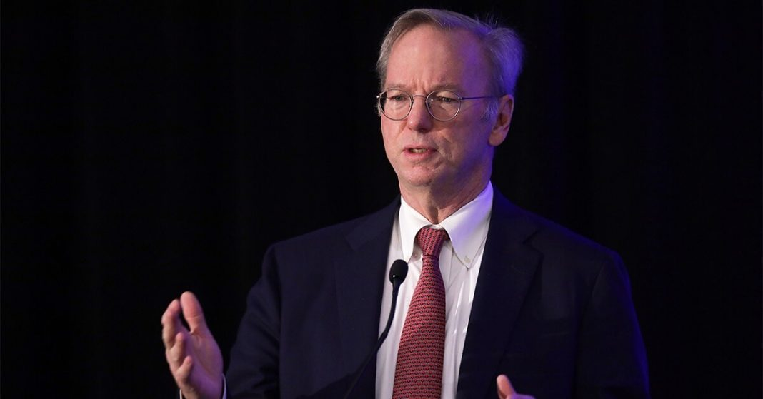 China on the verge of overtaking the U.S. in AI technology warns Eric Schmidt