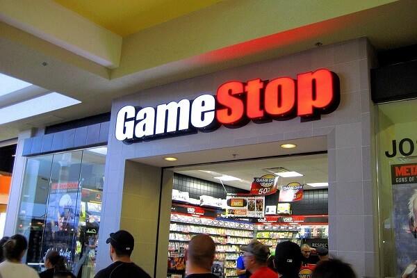 GameStop posts record