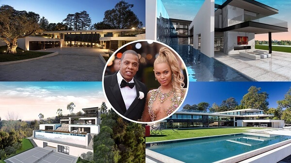 Jay Z and Beyonce's $88 million Bel Air compound