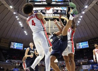 Oral Roberts upsets Ohio State in NCAA Tournament