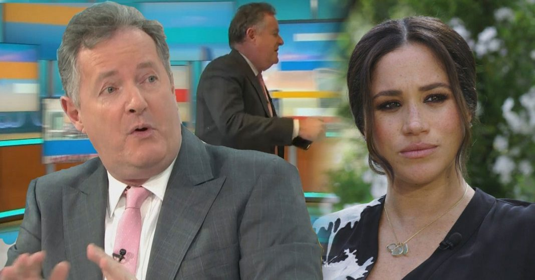 Piers Morgan quits Good Morning Britain after criticizing Meghan Markle over
