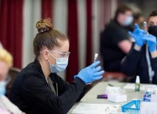 Potsdam, a small town of 16,000 near the US-Canada border has administered 50,000 vaccines