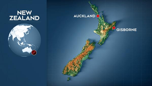 Three back-to-back earthquake in New Zealand