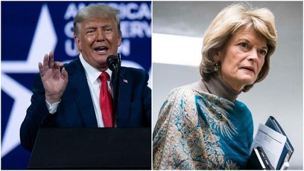 "Trump wages war against Murkowski to ""unseat"" her 12"