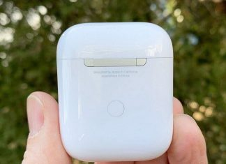 What is the button on the back of AirPods For