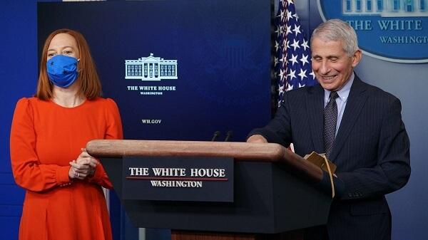 White House Press Secretary Jen Psaki has claimed that the Biden Administration
