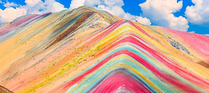 4. Rainbow Mountain, Peru