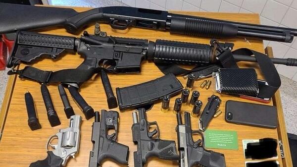 public suspect guns