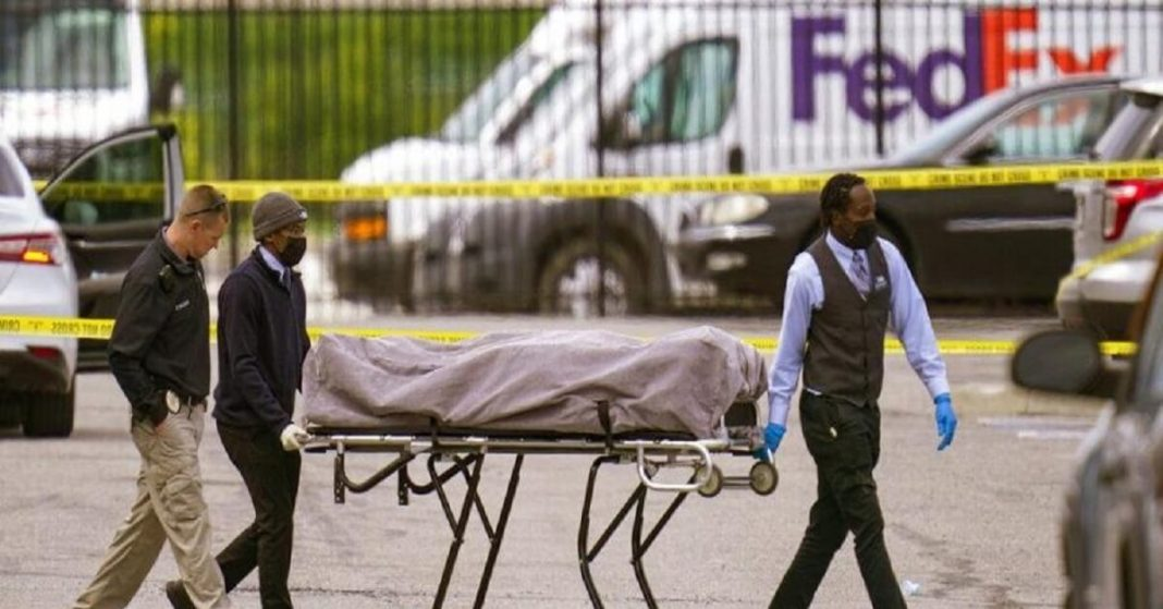 A Former Employee of Fedex Shoots Himself After Killing Eight People and Injuring Several Others