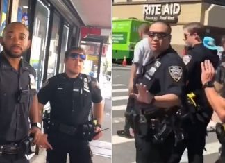 NYPD Cops Harassed and Insulted by a Group of New York Men
