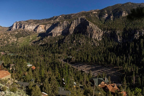 Power outage at Mt. Charleston due to high winds, locality to remain powerless till Monday