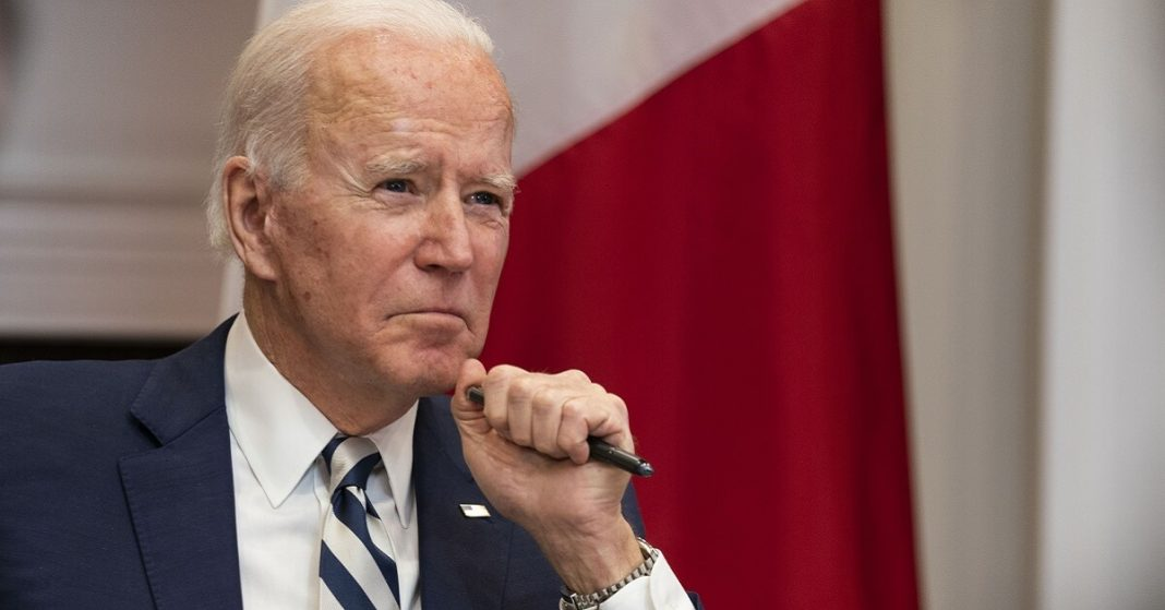 President Biden gears up to announce sanctions against Russia for apparent waywardness