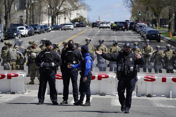 Suspect Identified in Killing of Officer at US Capitol Barricade