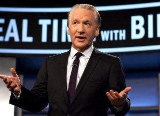 'Real Time' Taping Cancelled as Bill Maher Tested Covid Positive
