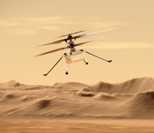 3D Footage of Ingenuity Mars Helicopter Released by NASA