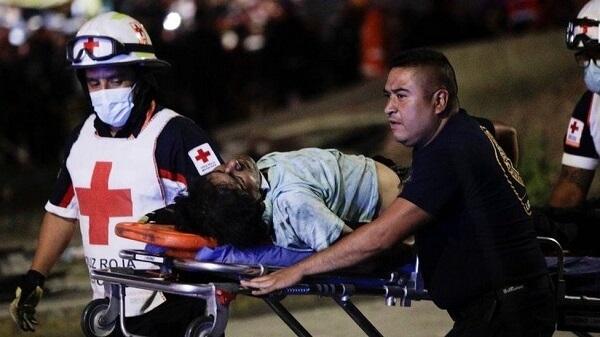 A Tragic Fall Mexico City's metro rail system collapse kills 23