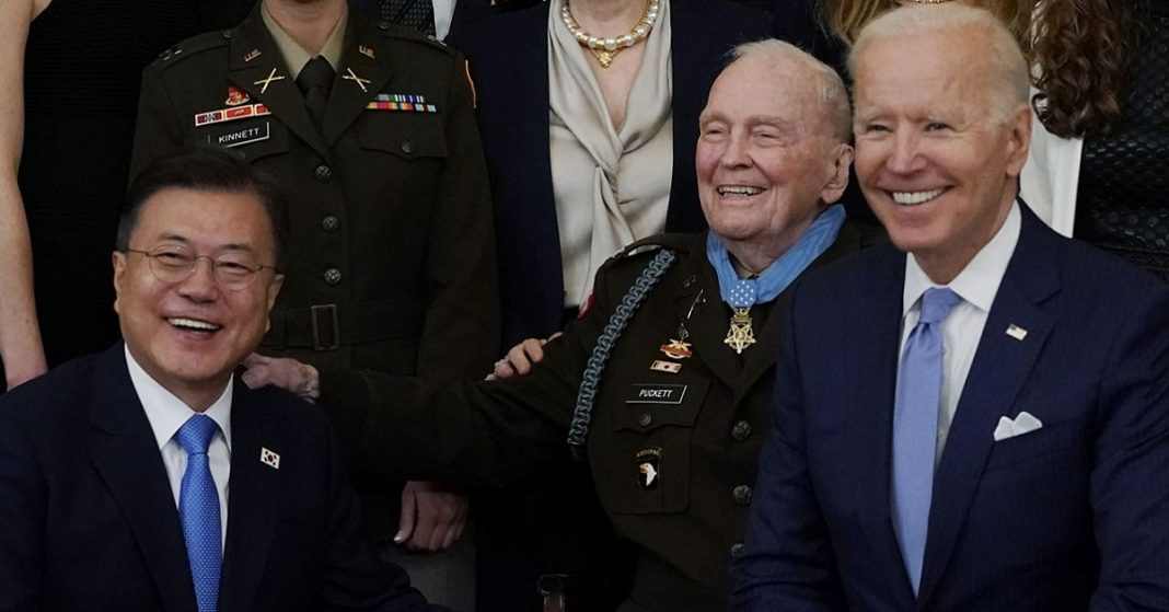 Biden Presents Ralph Puckett