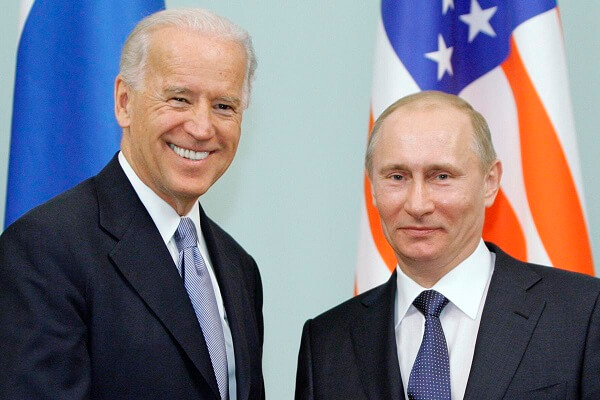 Biden's speech on Memorial day- sends out the message to Putin