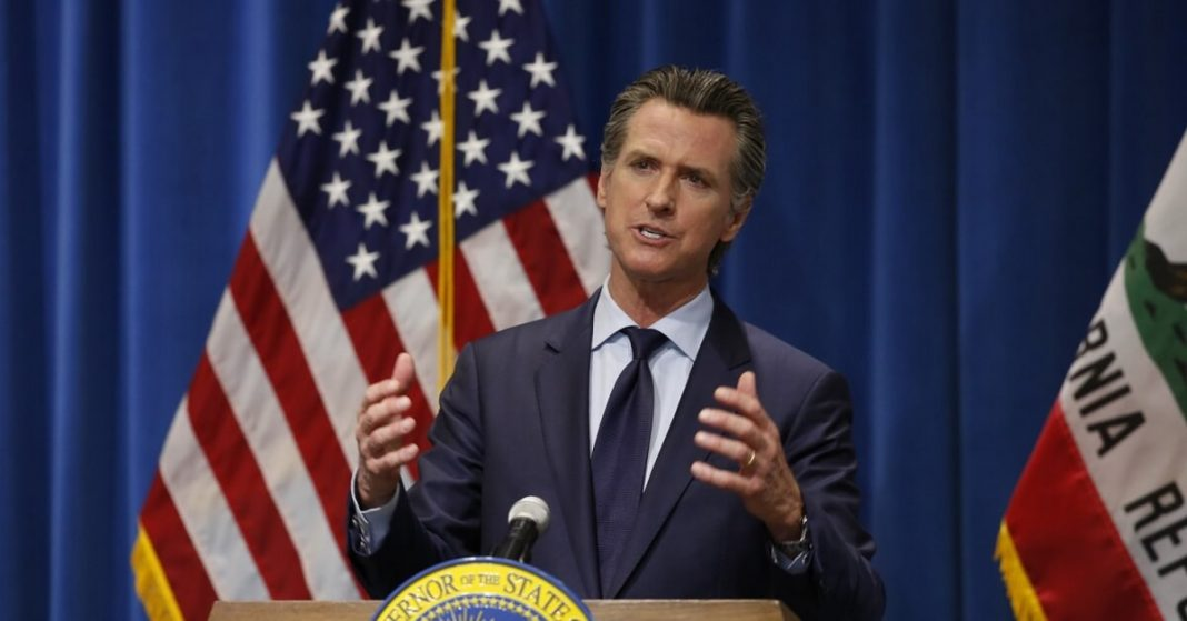 Governor Gavin Newsom proposes expansion of stimulus checks to the middle class
