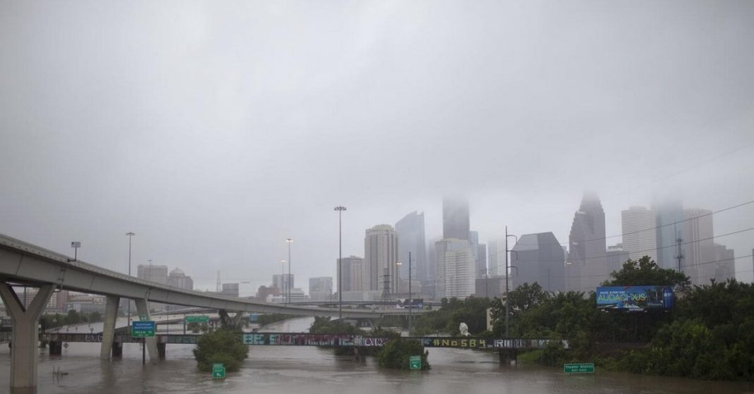 Houston Weather Makes National Weather Service Issue A Tornado Watch As Strong Storms Engulfs The Region