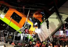 Mexico City's metro rail system collapse kills 23