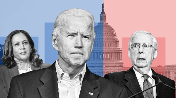 Mitch McConnell is completely focused on 'stopping' Biden's administration; Harris, Biden remain unaffected
